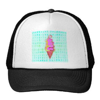 Abstract Ice Cream Trucker Hat