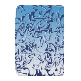 Abstract Icy Swirl iPad Mini Cover