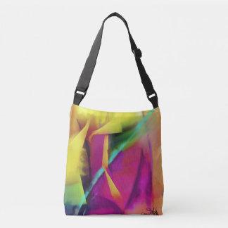 Abstract Ideas Colors Blending Crossbody Bag