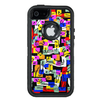 Abstract Ig labyrinth OtterBox iPhone 5/5s/SE Case