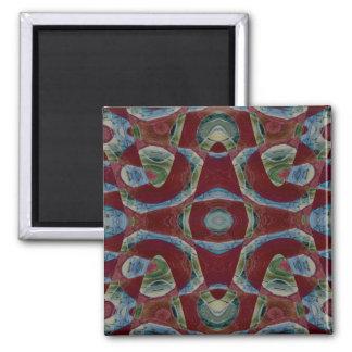 Abstract Illusion Fridge Magnet