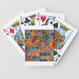 abstract image bicycle playing cards