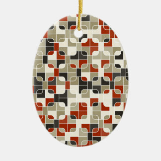 abstract image ceramic ornament