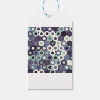 abstract image gift tags