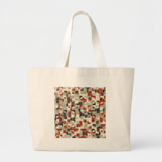abstract image large tote bag