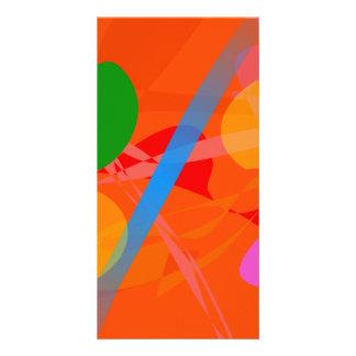 Abstract Image Photo Greeting Card