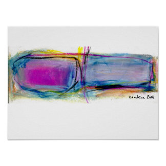 abstract image poster