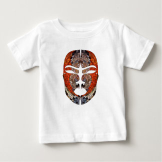 Abstract imitation of African mask Baby T-Shirt