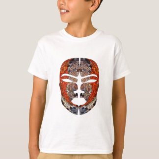 Abstract imitation of African mask T-Shirt