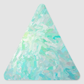 Abstract Imposto Color Composition Triangle Sticker