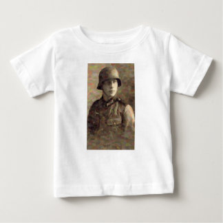 Abstract impressionist painting of A Young Soldier Baby T-Shirt