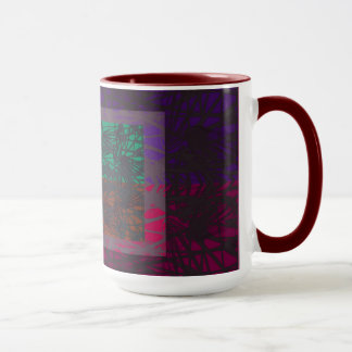 Abstract In Multi Colors Mug