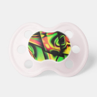 Abstract In Multi Colors Pacifier