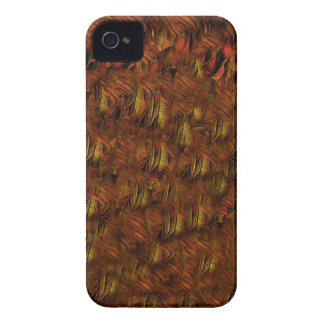 Abstract Indian Feathers iPhone 4 Cover