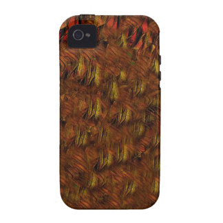 Abstract Indian Feathers Vibe iPhone 4 Cover