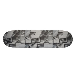 Abstract Industrial Image Skateboard