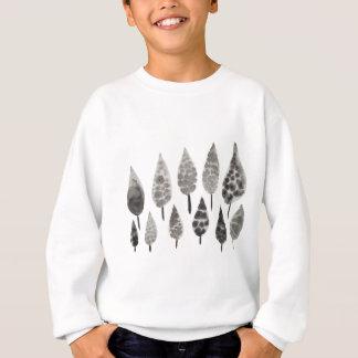 Abstract Ink Blot Trees Sweatshirt