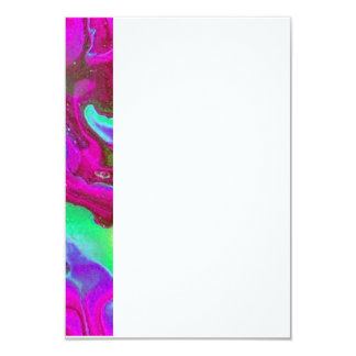 "Abstract 3.5"" X 5"" Invitation Card"