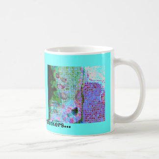 Abstract is for thinkers... classic white coffee mug