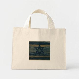 abstract israel canvas bag