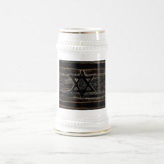 Abstract Israel 18 Oz Beer Stein