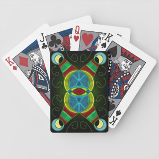 Abstract Jewels Bicycle Playing Cards