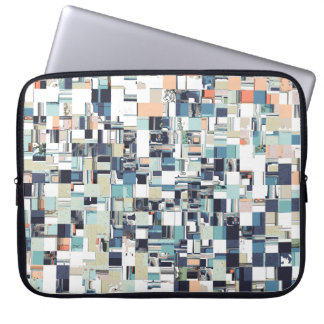 Abstract Jumbled Mosaic Laptop Sleeve
