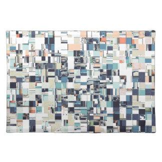 Abstract Jumbled Mosaic Placemat