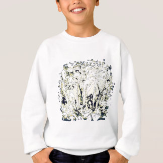 abstract jungle sweatshirt