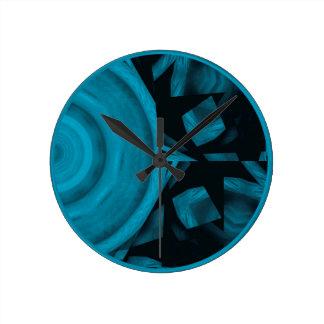 abstract kaleidoscope background clocks