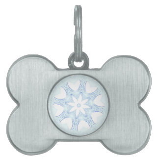 abstract kaleidoscope background pet tag