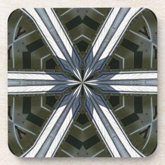 abstract kaleidoscope coaster