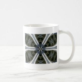abstract kaleidoscope coffee mug