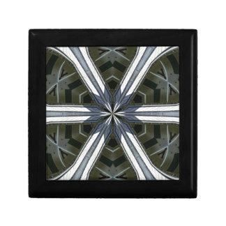 abstract kaleidoscope gift box