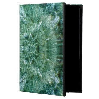 Abstract Kaleidoscope Green Mineral Crystal Powis iPad Air 2 Case