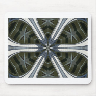 abstract kaleidoscope mouse pad