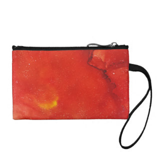 Abstract Key Coin Clutch Change Purses
