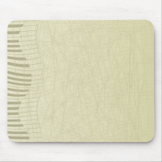 Abstract Keyboard Mouse Pad