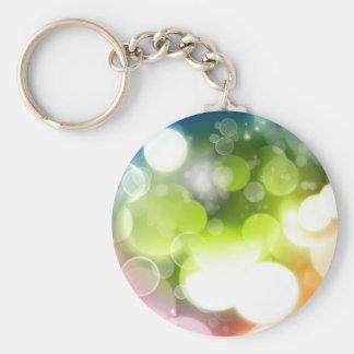 Abstract Key Chain