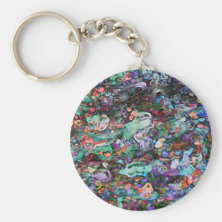 abstract keychain
