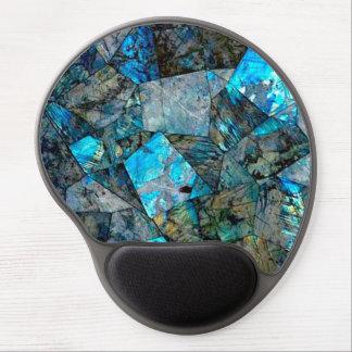 Abstract Labradorite Gems Art Gel Mousepad