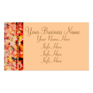 Abstract Lace Roses Pack Of Standard Business Cards