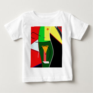Abstract lady baby T-Shirt