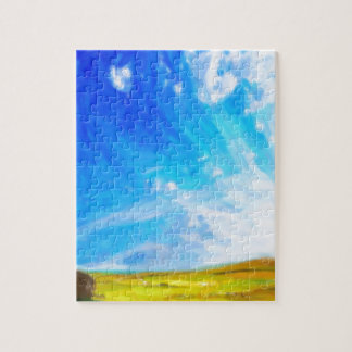 Abstract Landscape 2 Jigsaw Puzzle