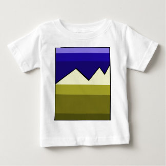 Abstract landscape baby T-Shirt