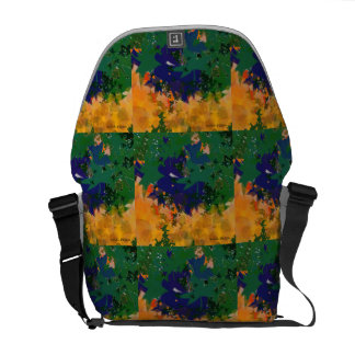 abstract landscape commuter bag