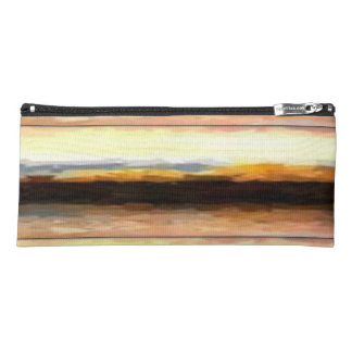 Abstract landscape Contemporary Pencil Case