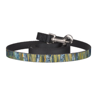 Abstract landscape dog leash