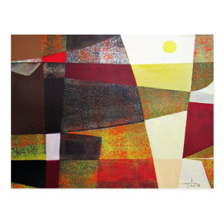 Abstract Landscape of Potosi Bolivia 33x22.6 Postcard