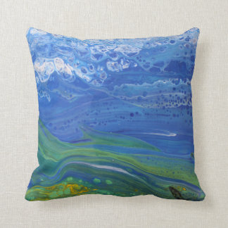 Abstract Landscape Pillow